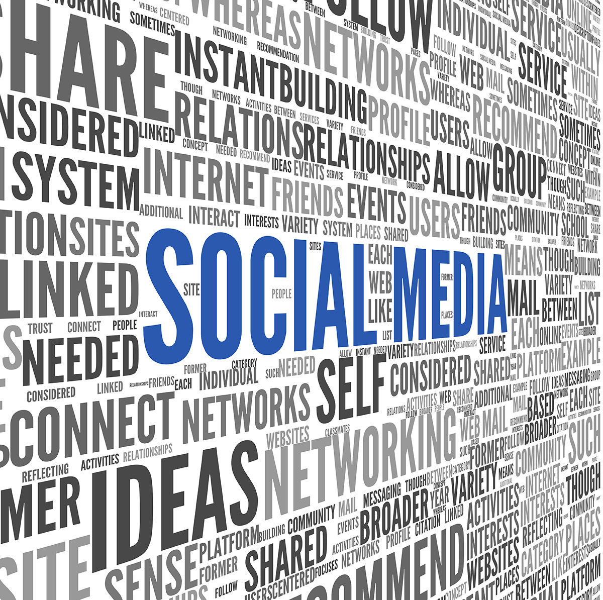 social media concepts and facebook advertising